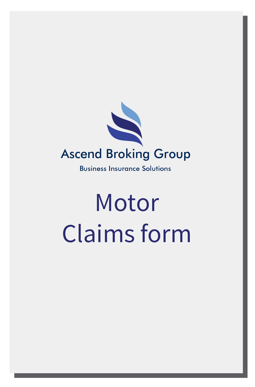 Ascend Motor Claims Form