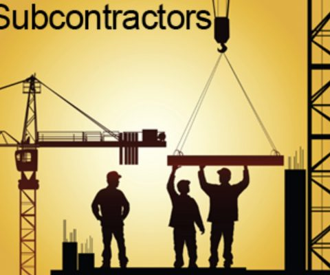Construction mistakes – The use of subcontractors