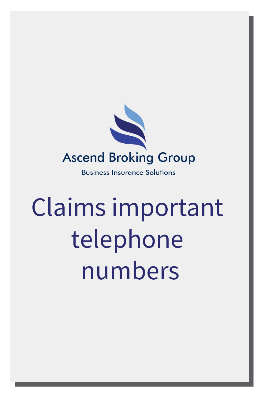 Ascend Telephone Numbers