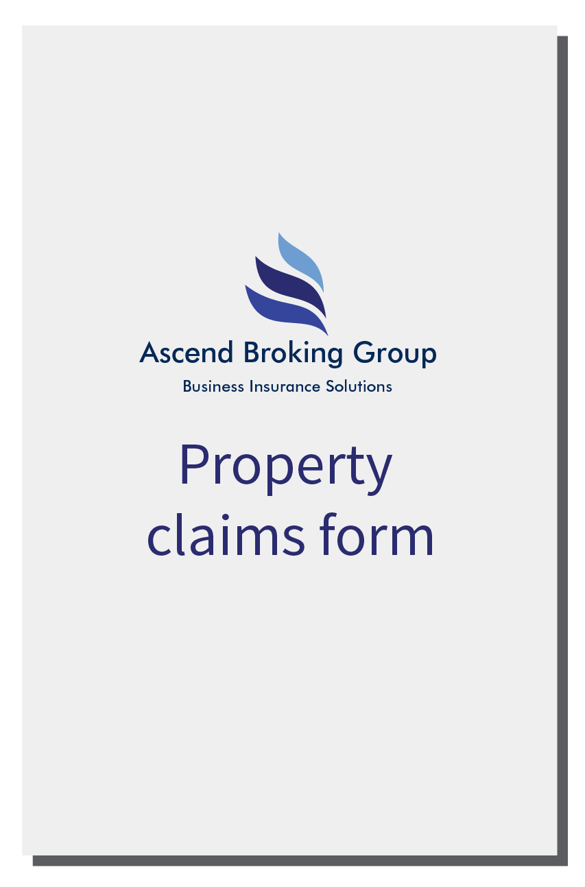 Ascend Property Claims Form