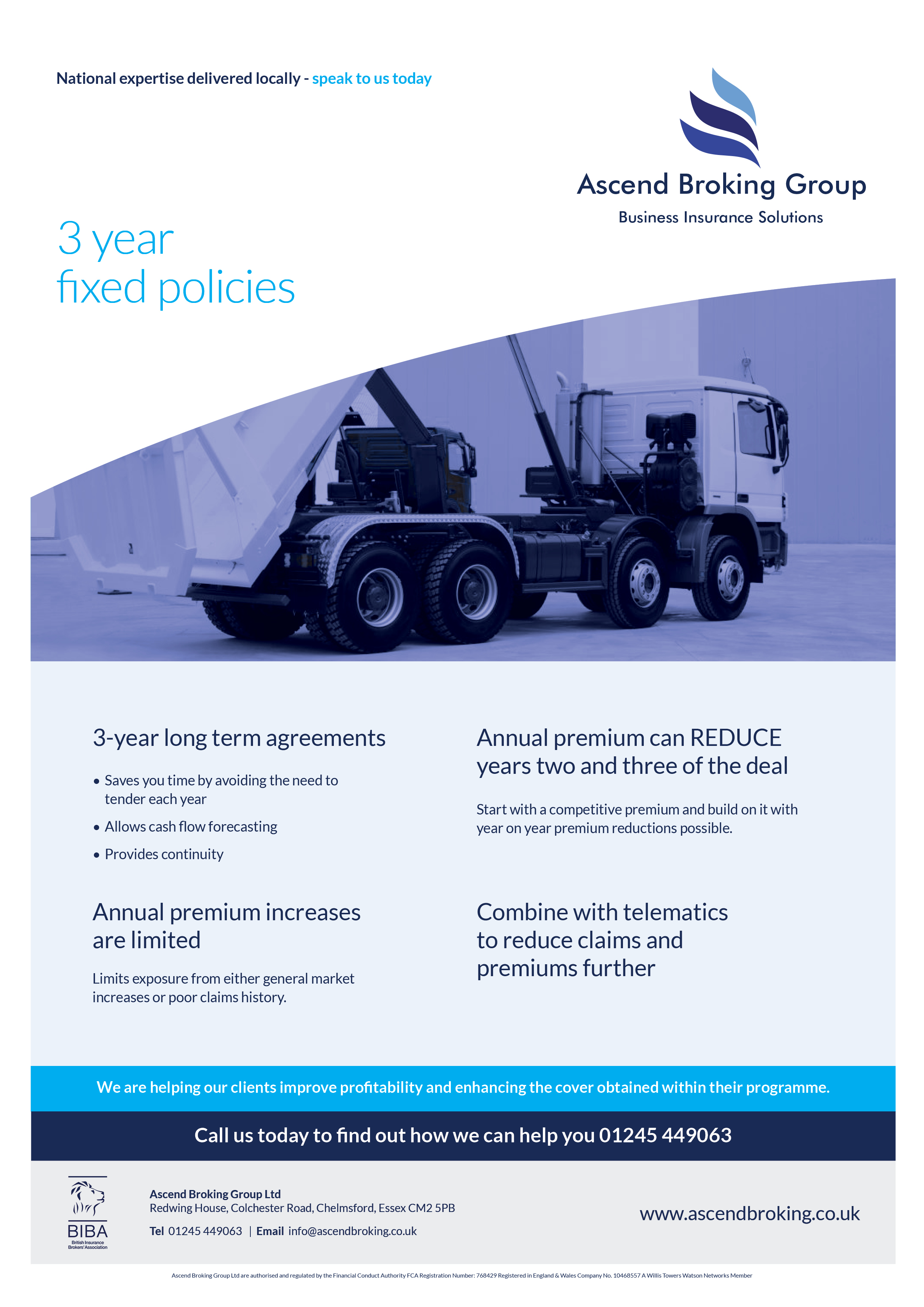 3 year fixed policies