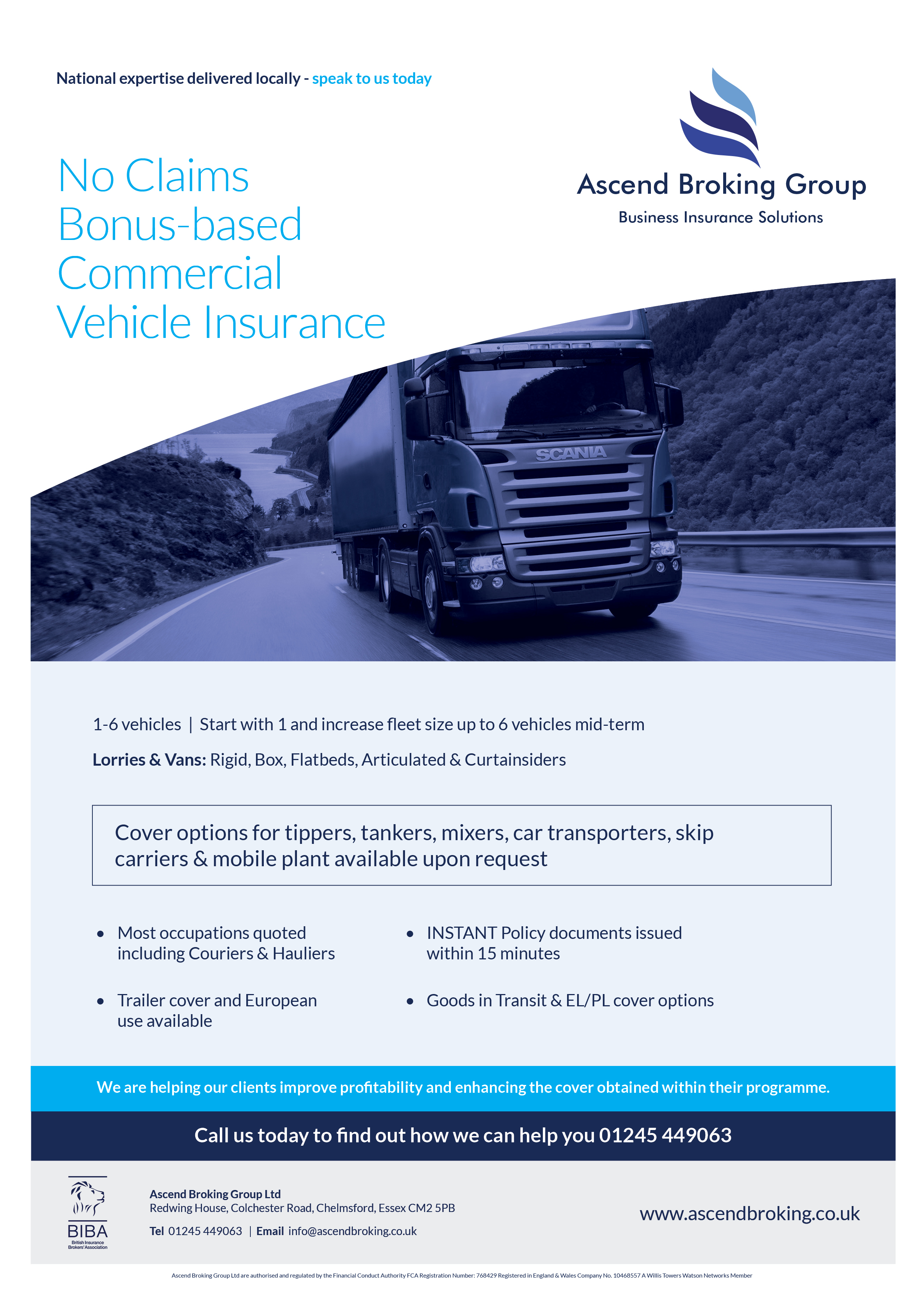 No Claims Bonus-based Commercial Vehicle Insurance