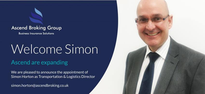 Simon Horton joins Ascend to head up Transportation & Logistics