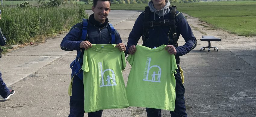 Ascend Charity Skydive Team Raise £1,600