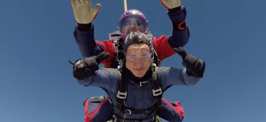 Sky Dive for CHESS Homeless Charity