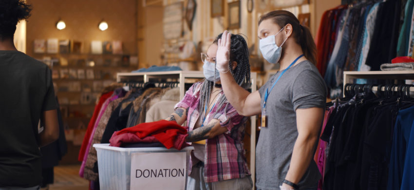 Charity shops off to a flying start with restrictions lifting