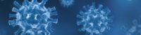 Coronavirus COVID-19 - Arrière-plan de virus flottant - Virologie et Microbiologie 3D