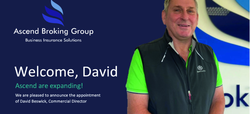 Welcome, David Beswick, to the Ascend team!