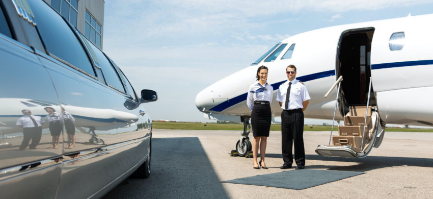 Private Jet concierge service exclusively for Ascend Executive customers